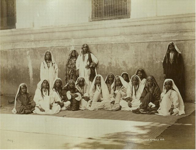 Group of Kashmiri Women - c1864