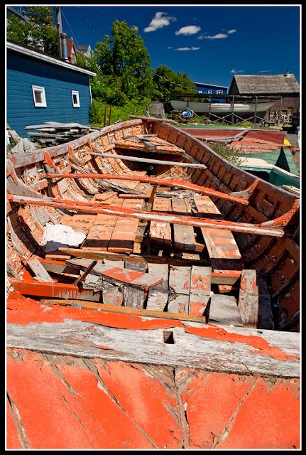Nova Scotia; Lunenburg; Boat; Dory