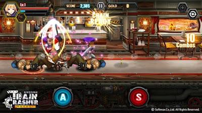 لعبة الاكشن و القتال TrainCrasher على الاندرويد
