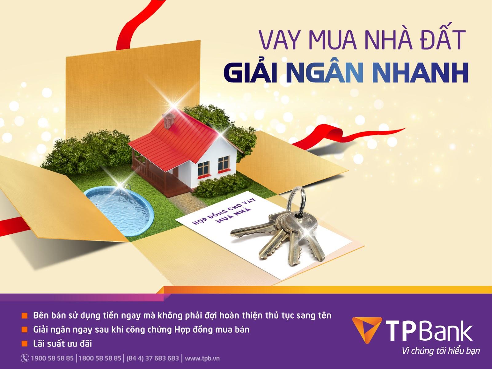dịch vụ vay ngân hàng mua nhà đất
