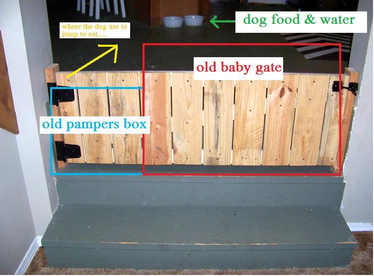 The Sunset Lane Barn Door Baby Gate