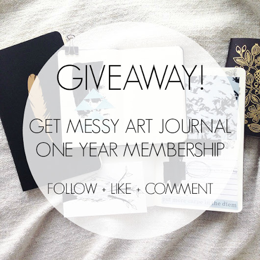 Get Messy Art Journal Giveaway!