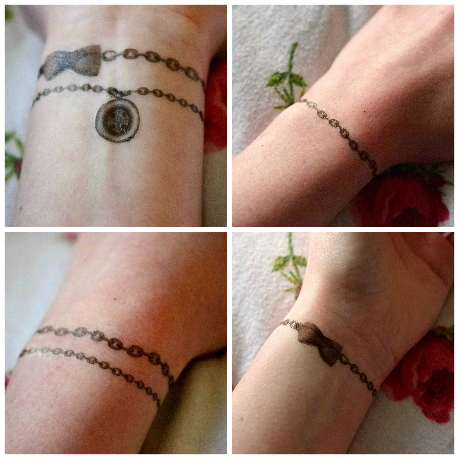 Temporary Wrist Tattoo