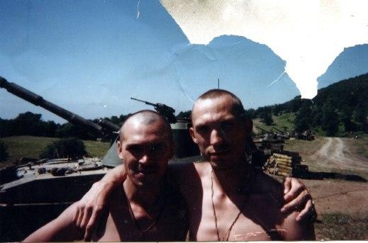 Позиция 2 гусеничной батареи артдивизиона 15 мотострелкового полка в Ахкинчу-Борзой