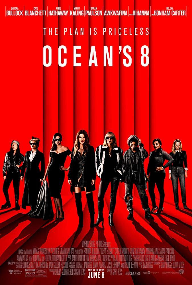 6b8e1f7af2e 1272. Ookeani 8 (Ocean's 8, USA, 2018) [Ocean's Trilogy] | Head uued ...