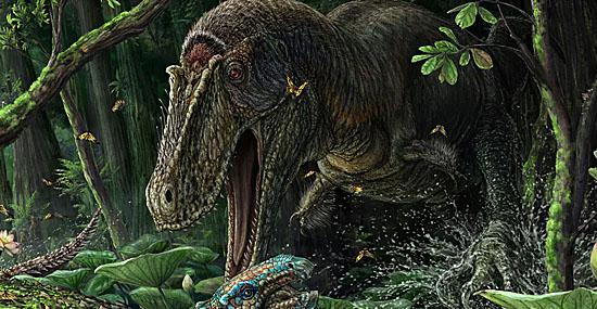 Dynamoterror - primo antigo do Tiranossauro Rex é descoberto