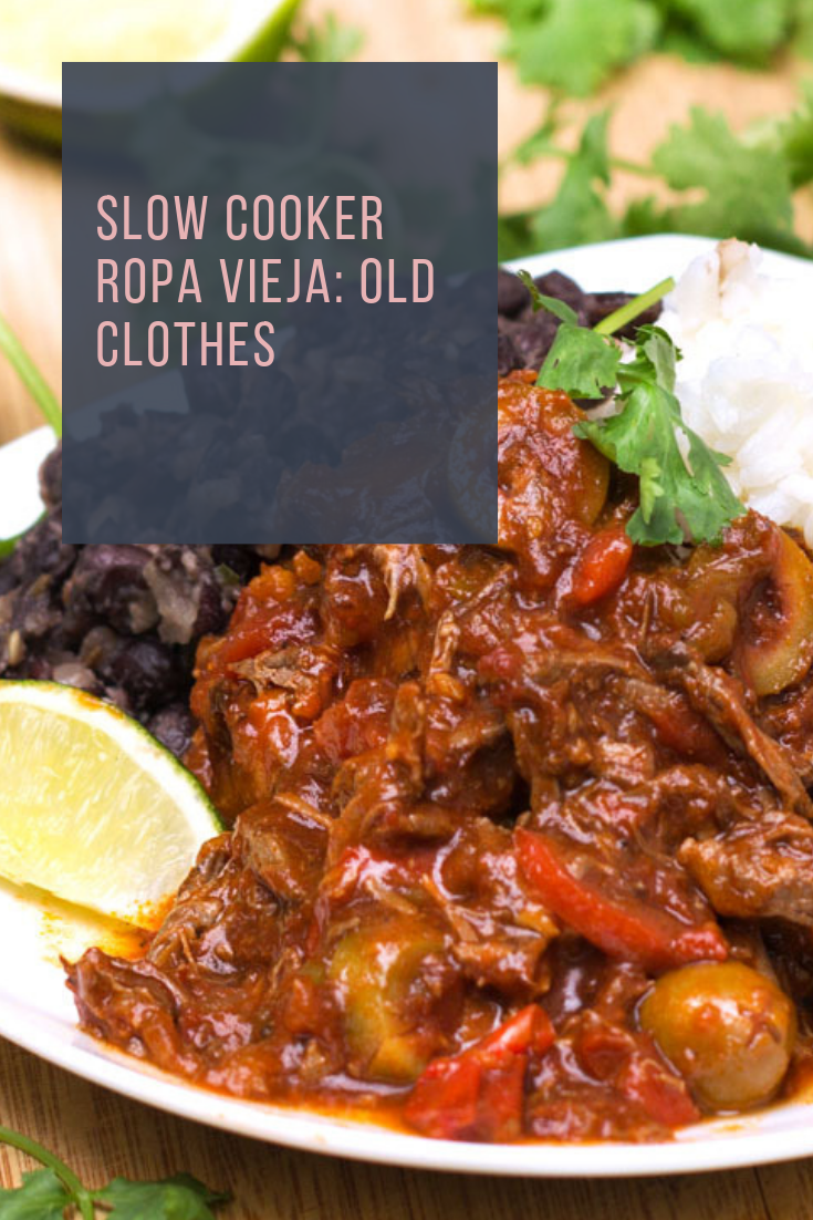 #SLOW #COOKER #ROPA #VIEJA: #OLD #CLOTHES
