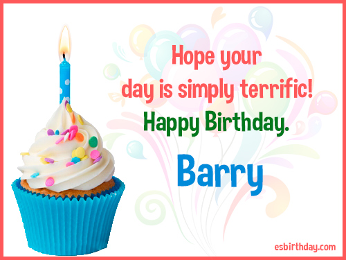 happy birthday barry Happy Birthday Barry   Happy Birthday images for Name happy birthday barry
