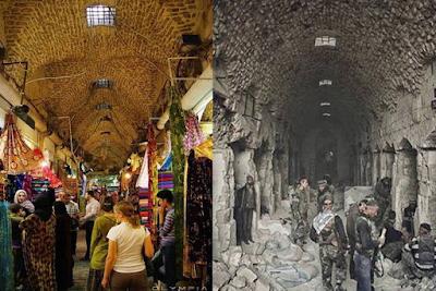 Miris! Begini Perbandingan Suriah Sebelum dan Sesudah Perang