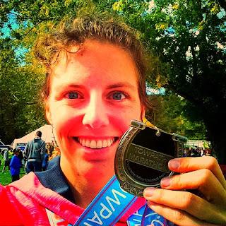 half marathon race running racing medal bling fitness