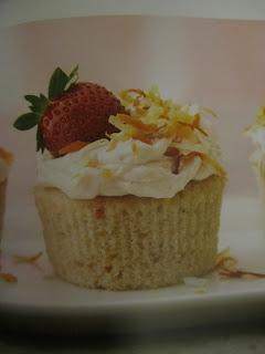 Cupcake - Cupcakes - Strawberry cupcakes - Strawberry colada cupcakes