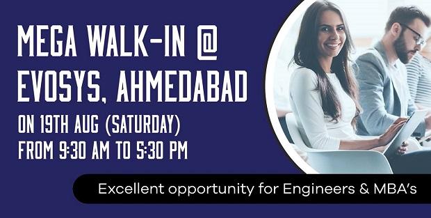 Mega Walk In Evosys Ahmedabad Devil Study
