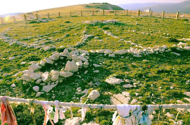 Medicine Mountain stone Sacred Hoop