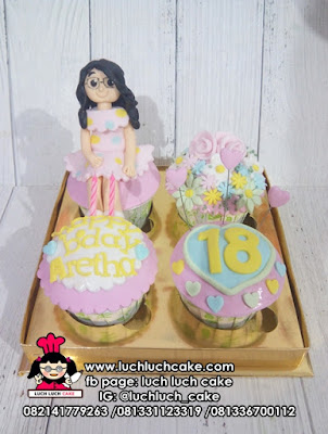 Cupcake Ulang Tahun Untuk Cewek Dewasa