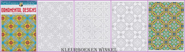 kleurboek ornamental designs