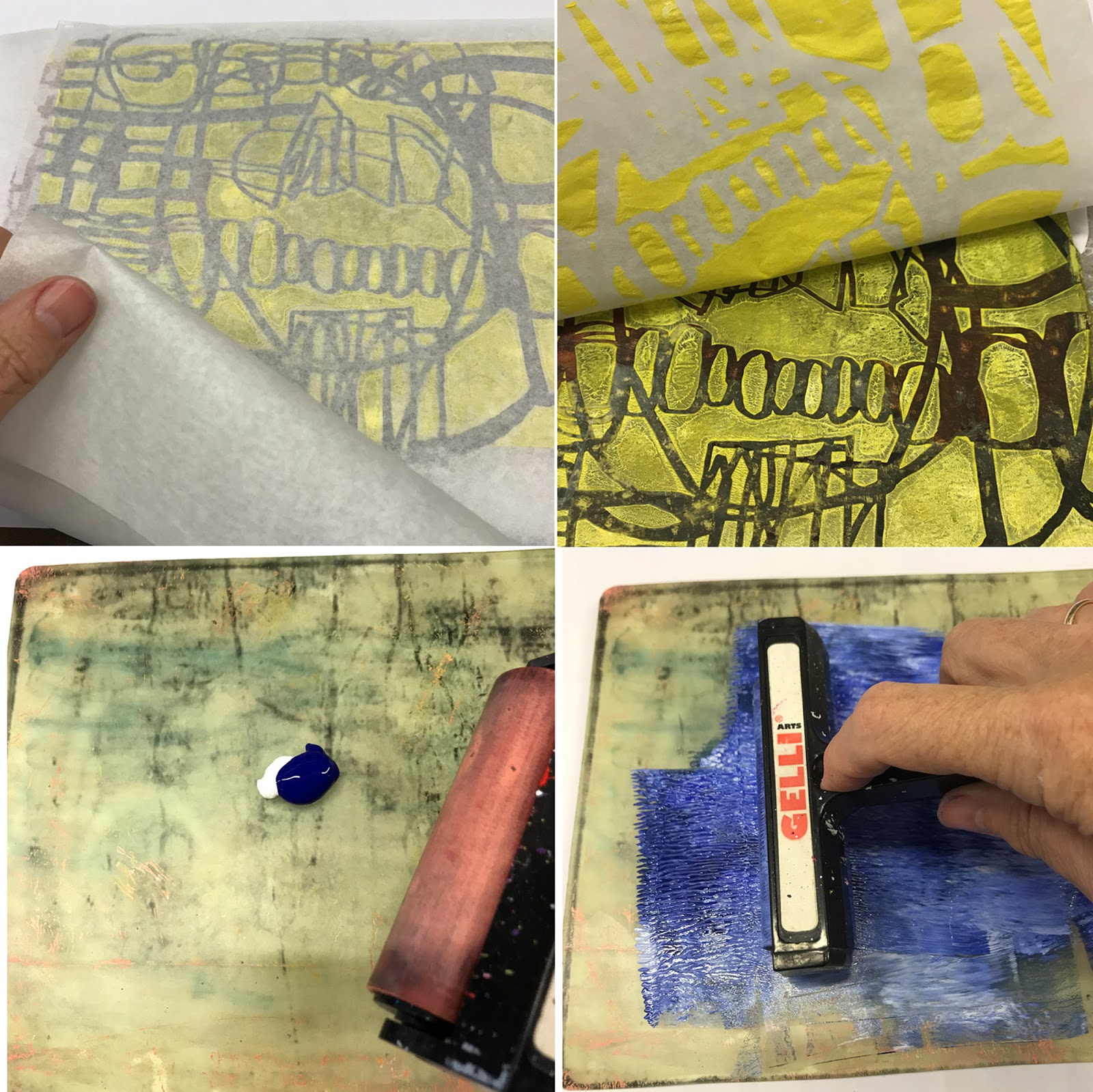 Printing with Gelli Arts®: Artist Inspired Gelli Arts