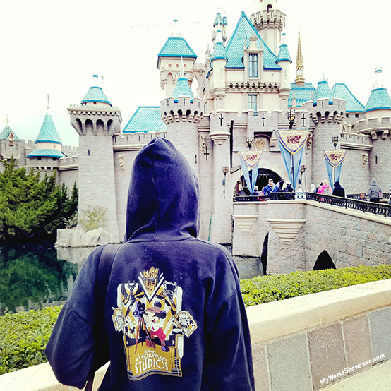 Rainy Days at Disneyland- Sleeping Beauty Castle