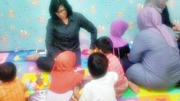 Kelima balita akan dititipkan di rumah aman di Dinas Sosial Pekanbaru agar tak terlantar lagi