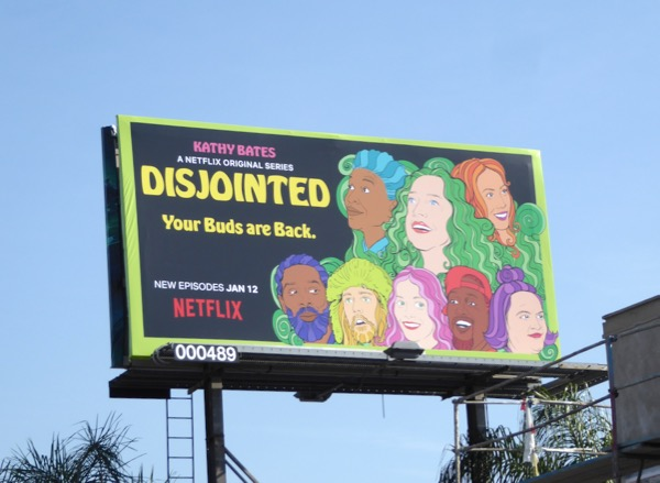 Disjointed part 2 billboard