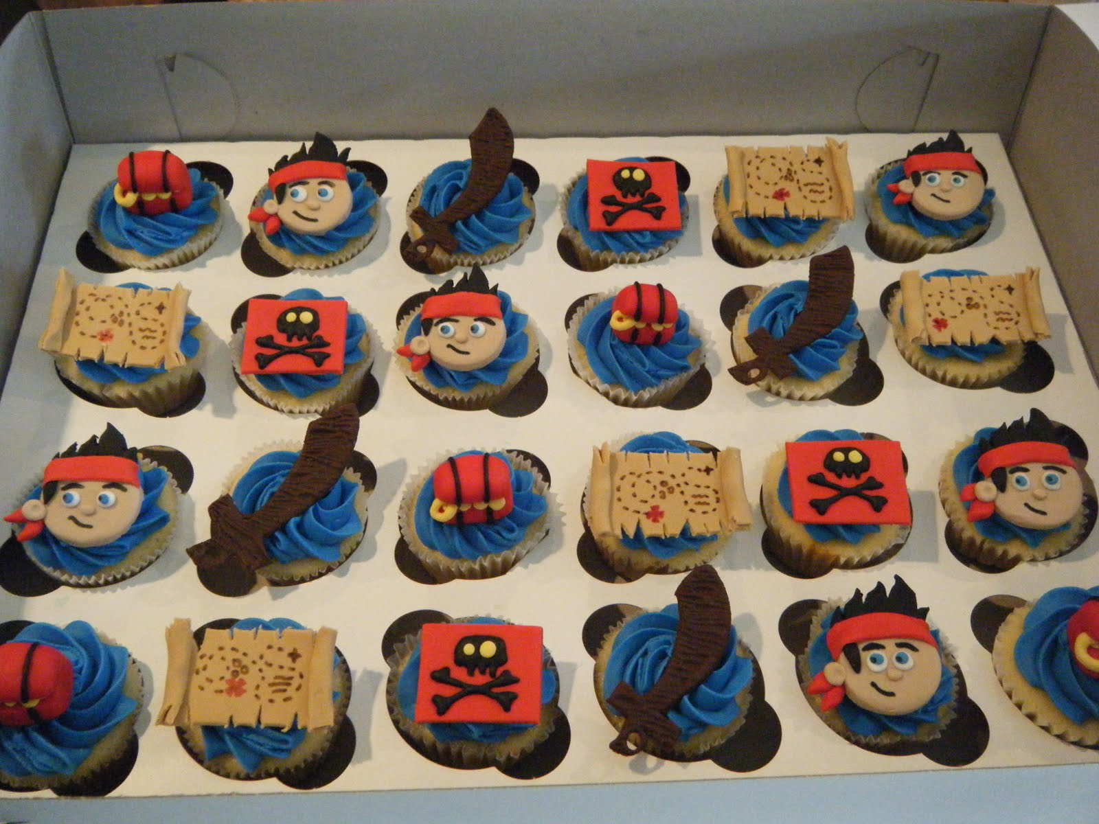 jake and the neverland pirates cupcakes - photo #7