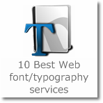 10 Best Web font/typography services