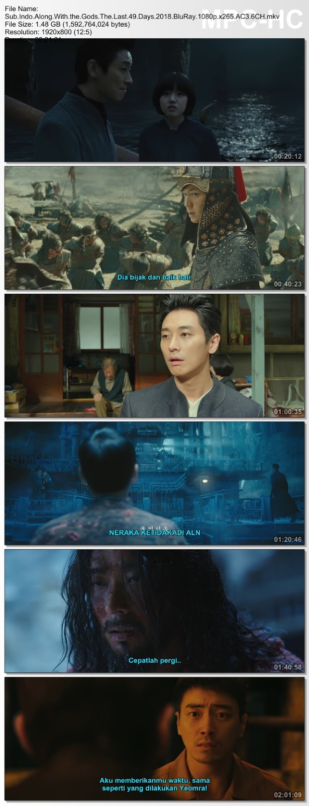 Screenshots Download Singwa hamkke: Ingwa yeon (2018) BluRay 480p & 3GP Subtitle Indonesia