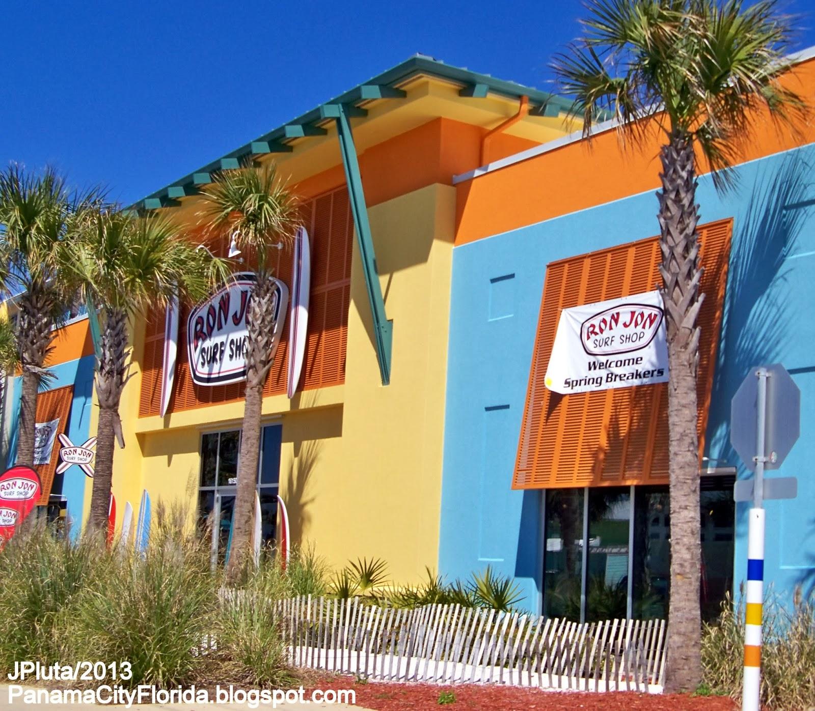 Ron Jon Panama City Beach Florida Pier Park Front Road Surf Surfboards Spring Break Fl Pcb Fla