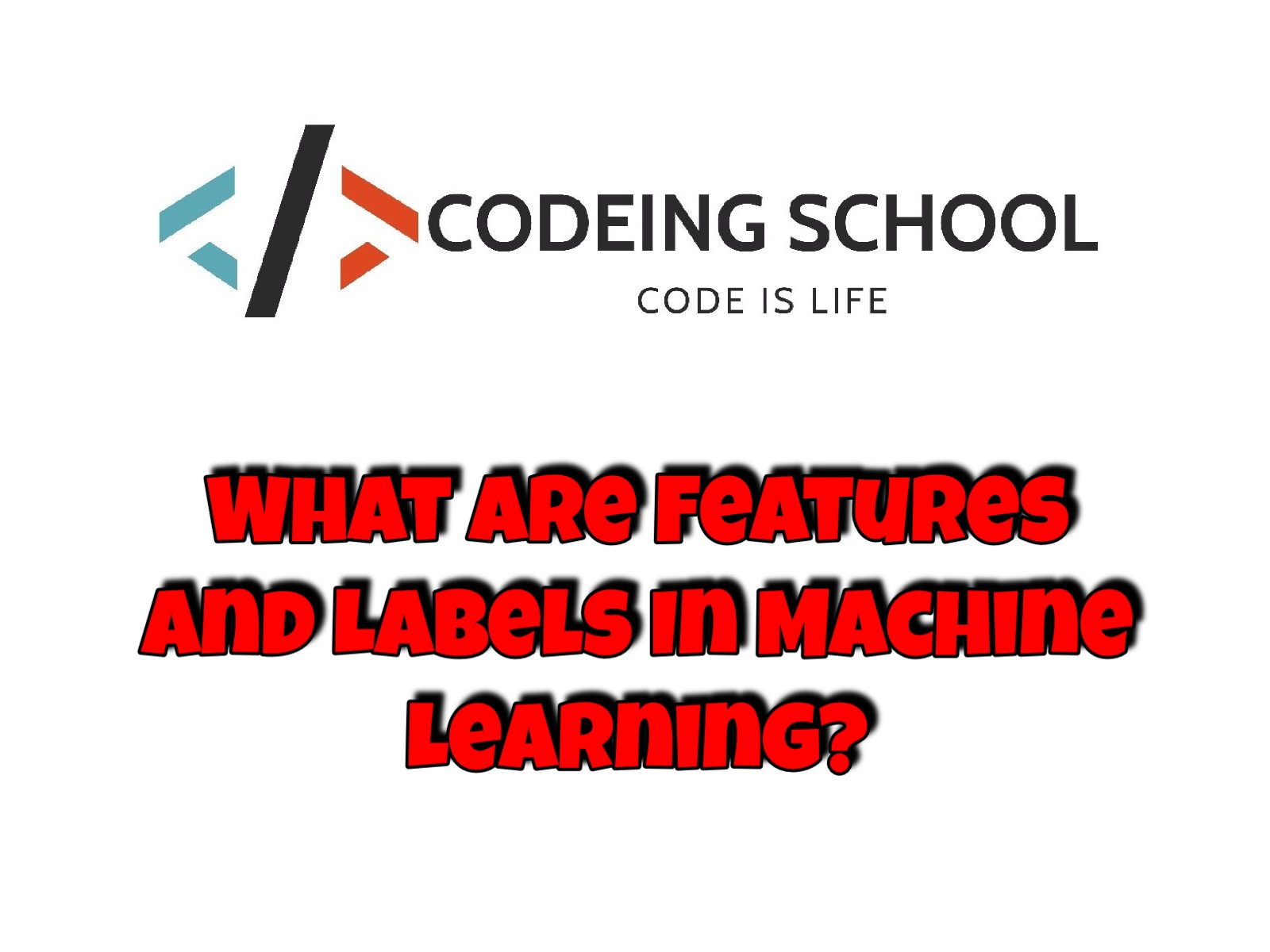 What Are Features And Labels In Machine Learning? | Codeing School