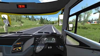 Interior Jetbus 3 ETS2