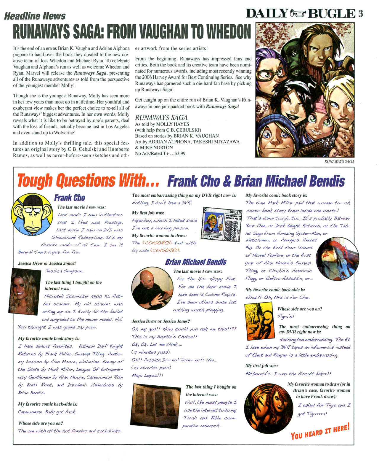 Read online Daily Bugle (2006) comic -  Issue #6 - 4