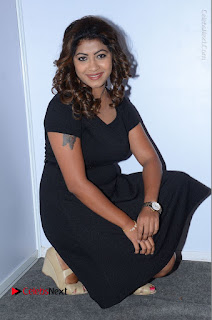 Tollywood Actress Geethanjali Thasya Latest Pos in Black Short Dress at Nanna Nenu Na Boyfriends Audio Launch  0042.JPG