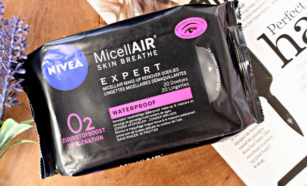 Nivea MicellAir Expert make up remover doekjes