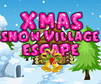 SiviGames Xmas Snow Village Escape