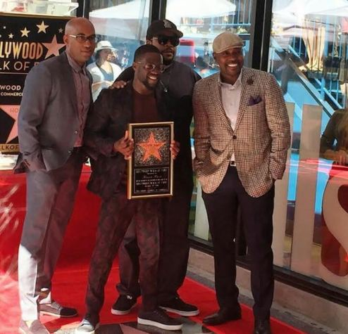 Photos: Kevin Hart receives a star on the Hollywood Walk of Fame