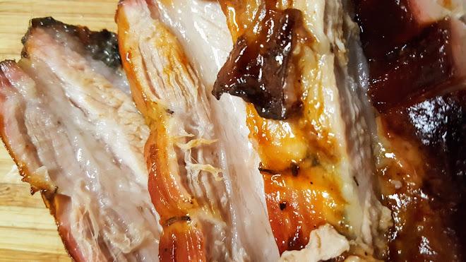 Poitrine de porc braisée pendant 7 heures