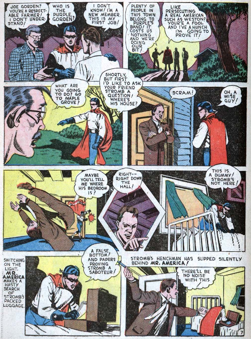 Read online Action Comics (1938) comic -  Issue #40 - 44