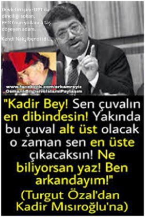 Devlet Katına (DPT) Dinciliği, Dincileri  Turgut Özal Sokmuş  (1)