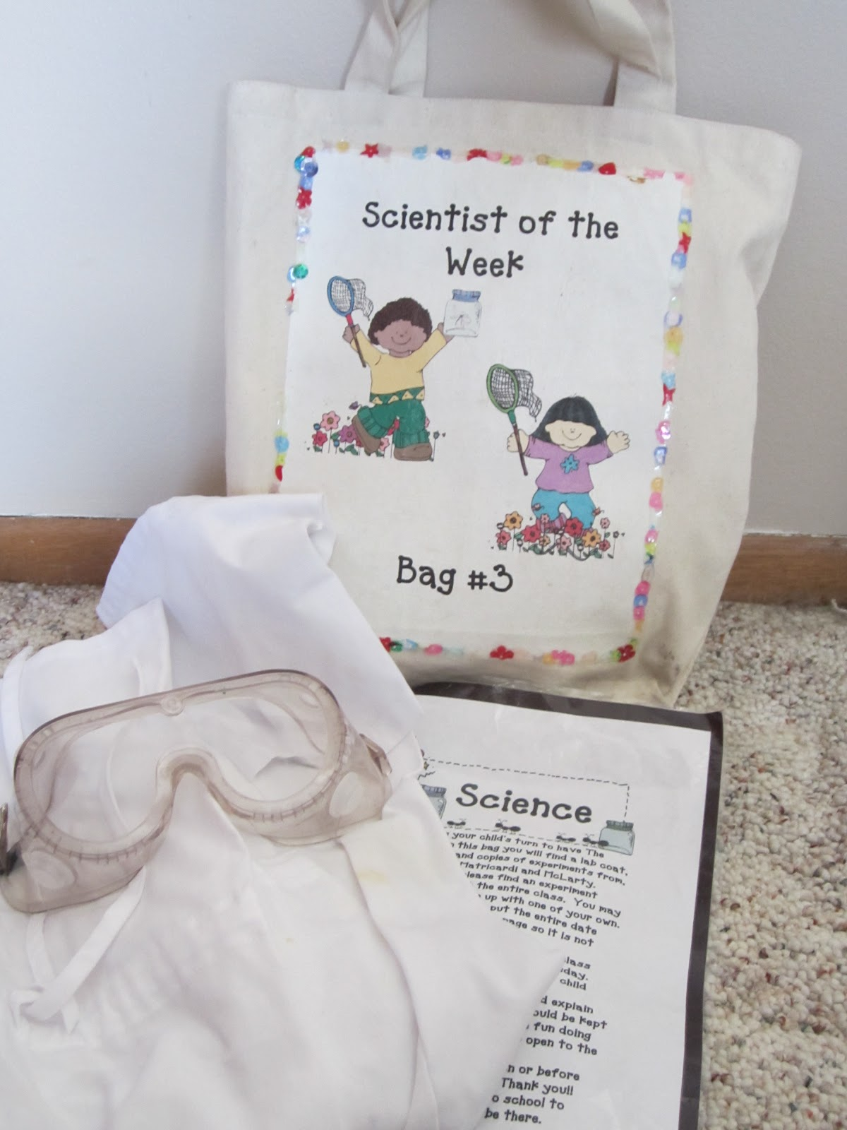 Kindergarten At Heart Take Home Bags