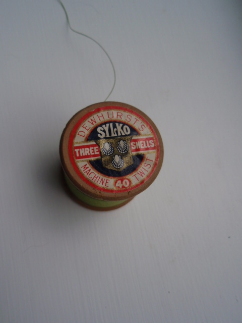 Vintage cotton reel in Vintage condition