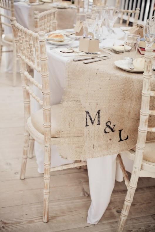 una boda de estilo shabby chic