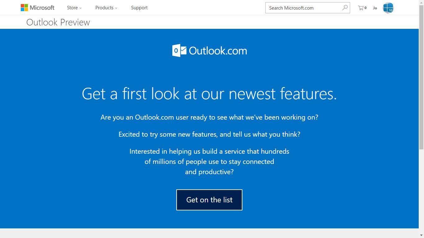 Come ottenere subito il nuovo Outlook.com 2