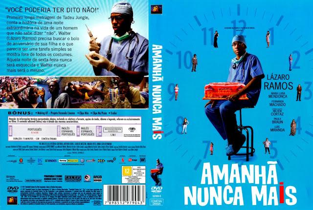 Capa DVD Amanhã Nunca Mais