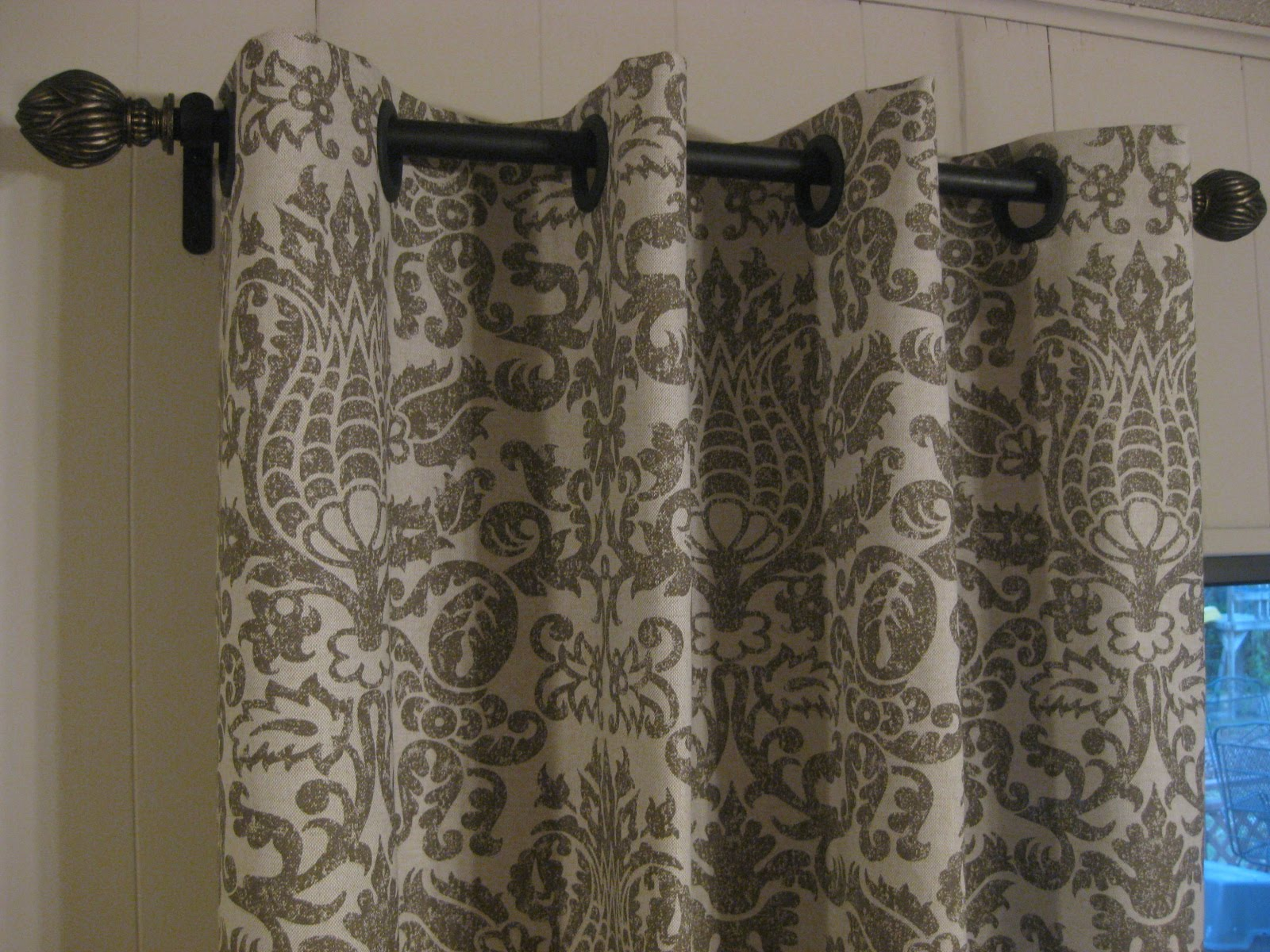 attractive styles of no sew curtains curtains design. Black Bedroom Furniture Sets. Home Design Ideas