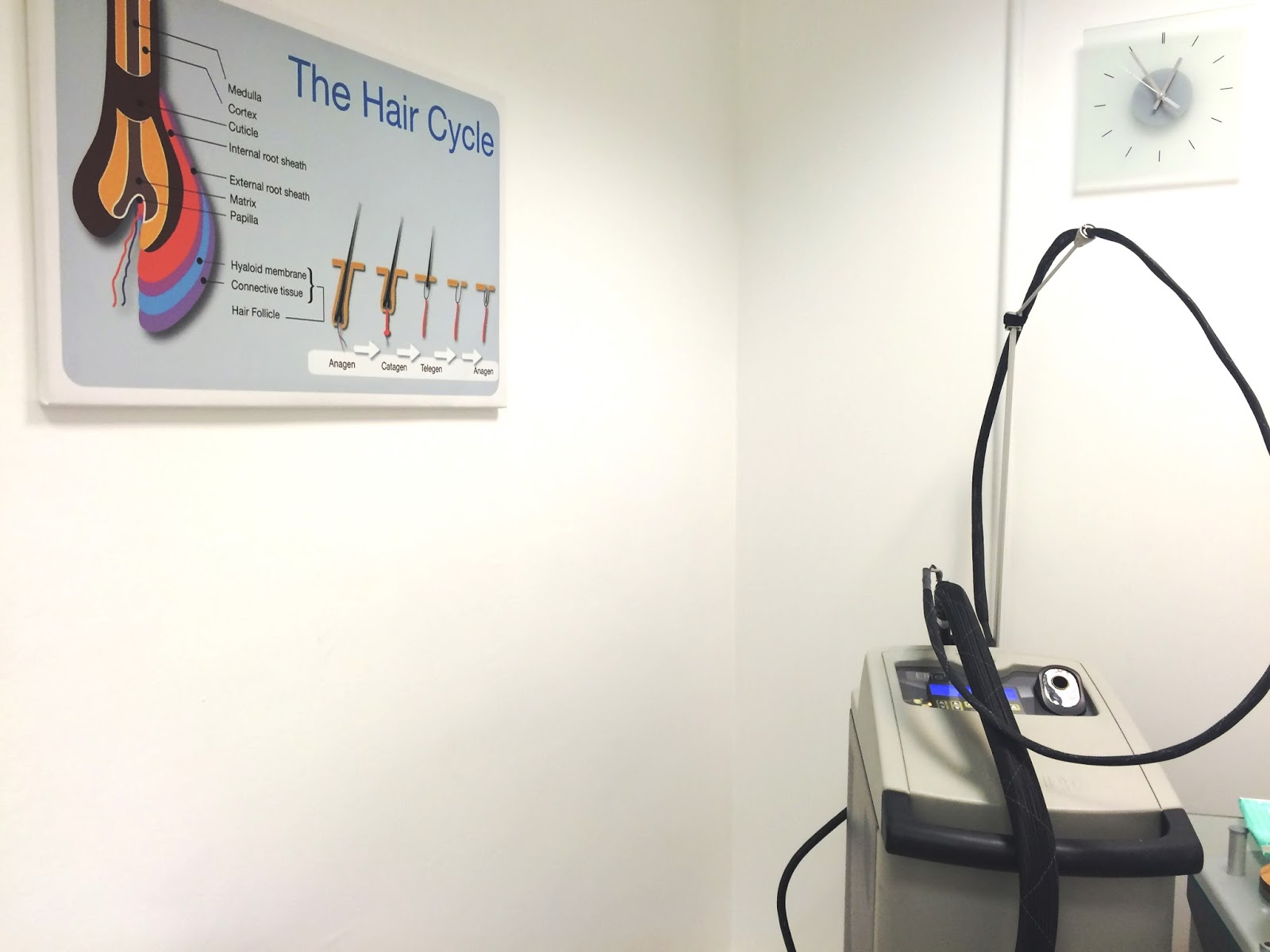 Pulse Light Clinic laser hair removal fenchurch street london