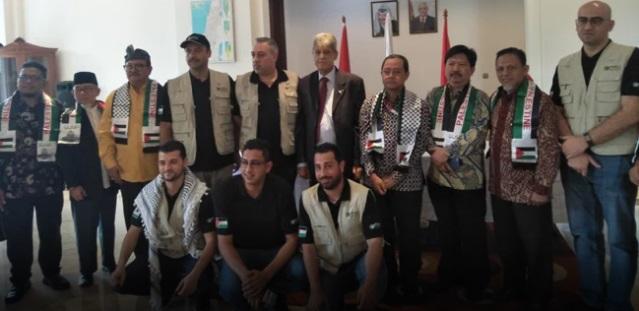 Subhanallah, Palestina Tak Akan Berhenti Bantu Indonesia Hingga Sulteng Pulih