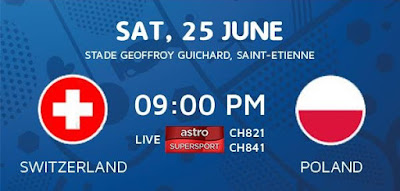 Switzerland Vs Poland EURO 2016