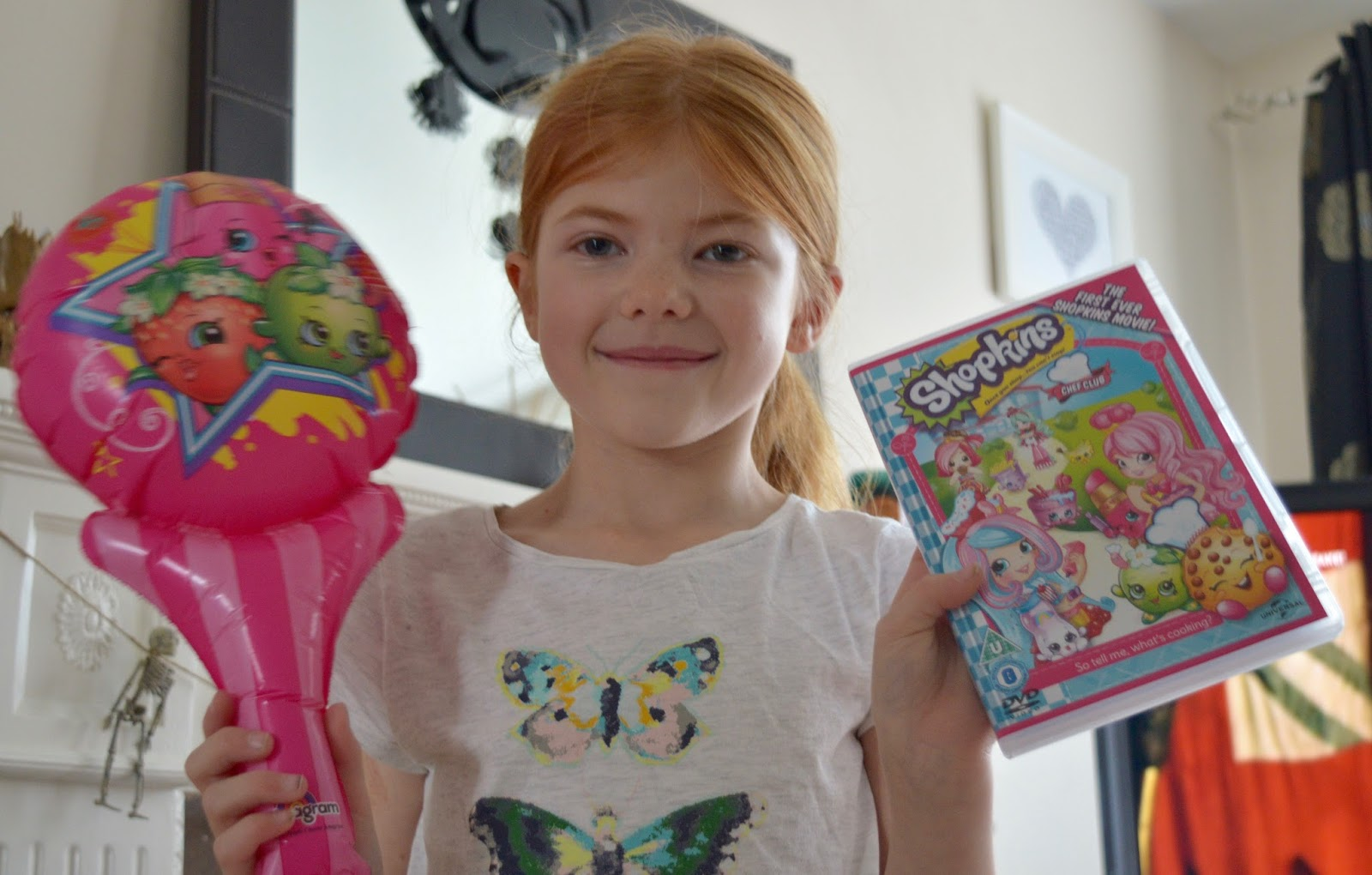 How to host an AWESOME Shopkins Movie Party #ShopkinsChefClub. Shopkins Chef Club Review - DVD cover