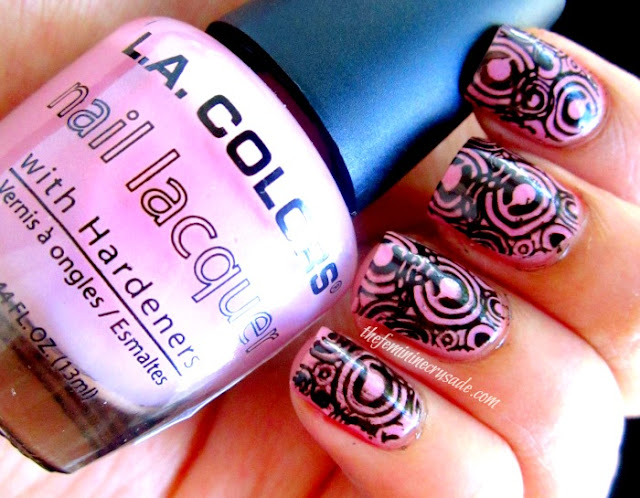 Picture of Stamping with Born Pretty Store CK-04