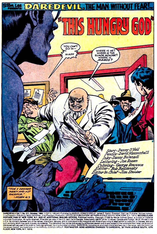 Daredevil (1964) 211 Page 1