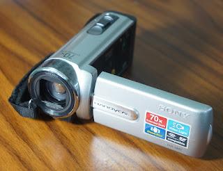 Jual handycam Sony SX22 Bekas